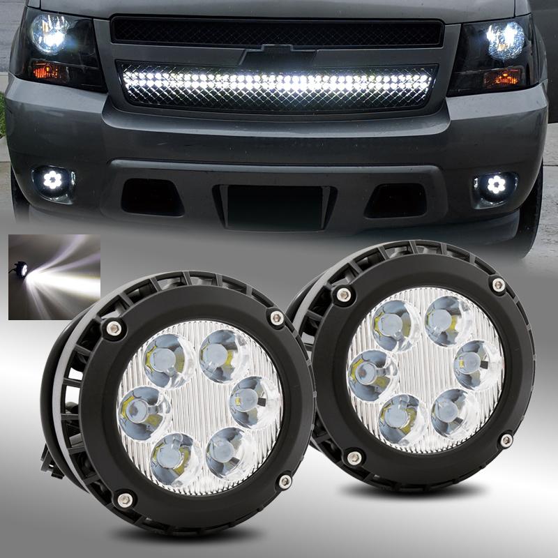 For 2007-2013 Gmc Sierra 1500 Sierra 2500Hd 3500Hd Fog Lamp Light W//Bulb Rh